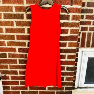 Premise Fit and Flare Red Dress